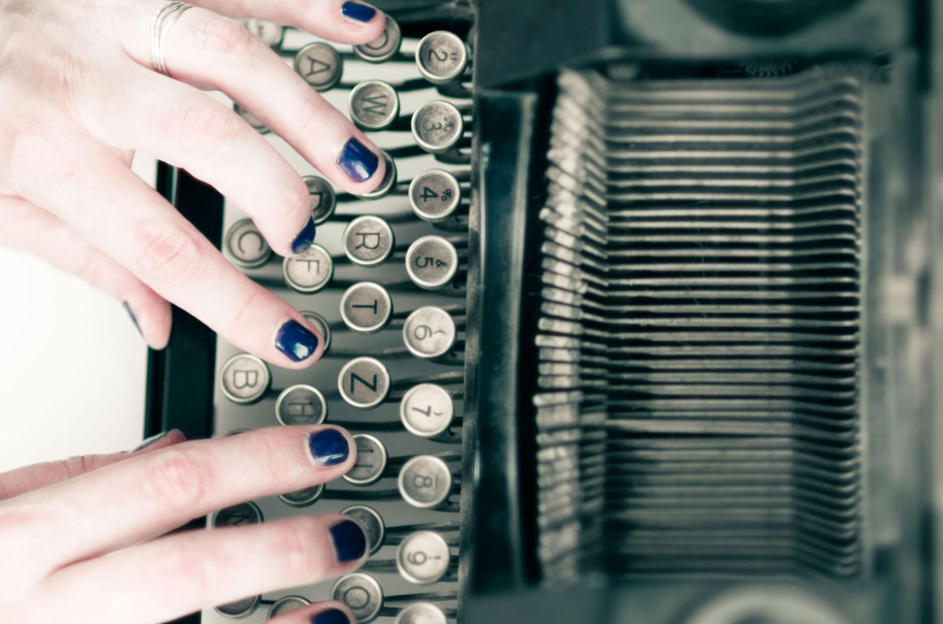 Anne van den Berg - typemachine 2