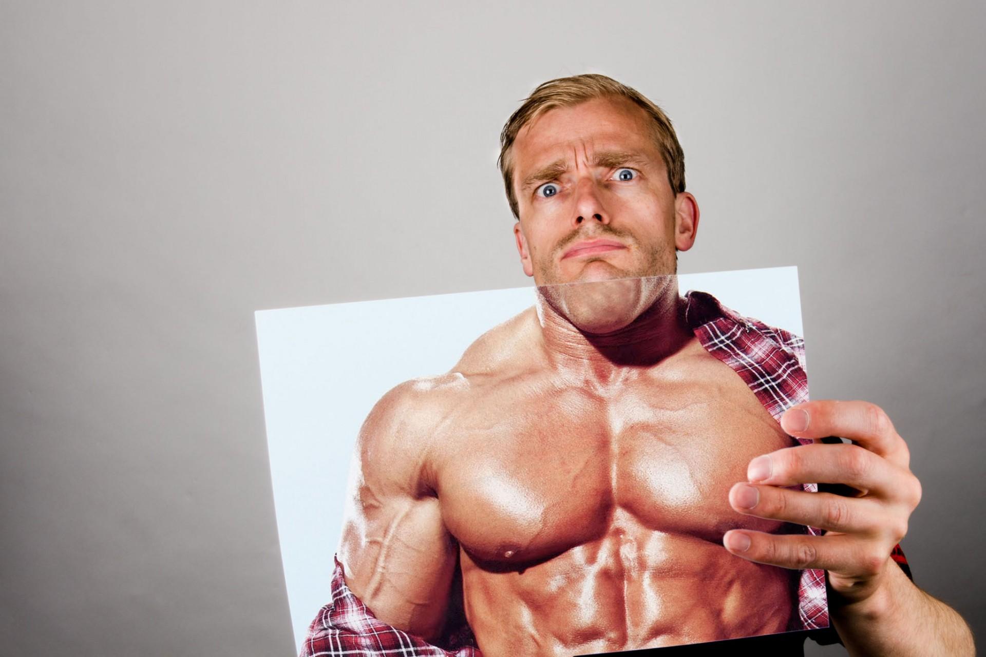 was ik maar een bodybuilder