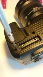 1 Onderplaat Nikon D7000