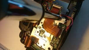 8 Camera's sensor unit Nikon D7000