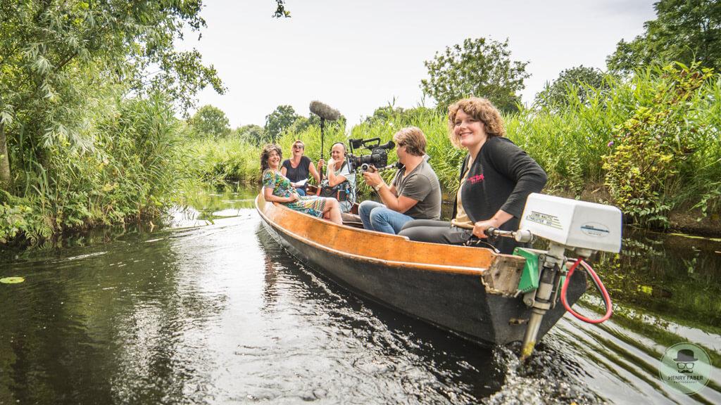 Dieuwertje Blok - Landinwaards-Giethoorn - boot