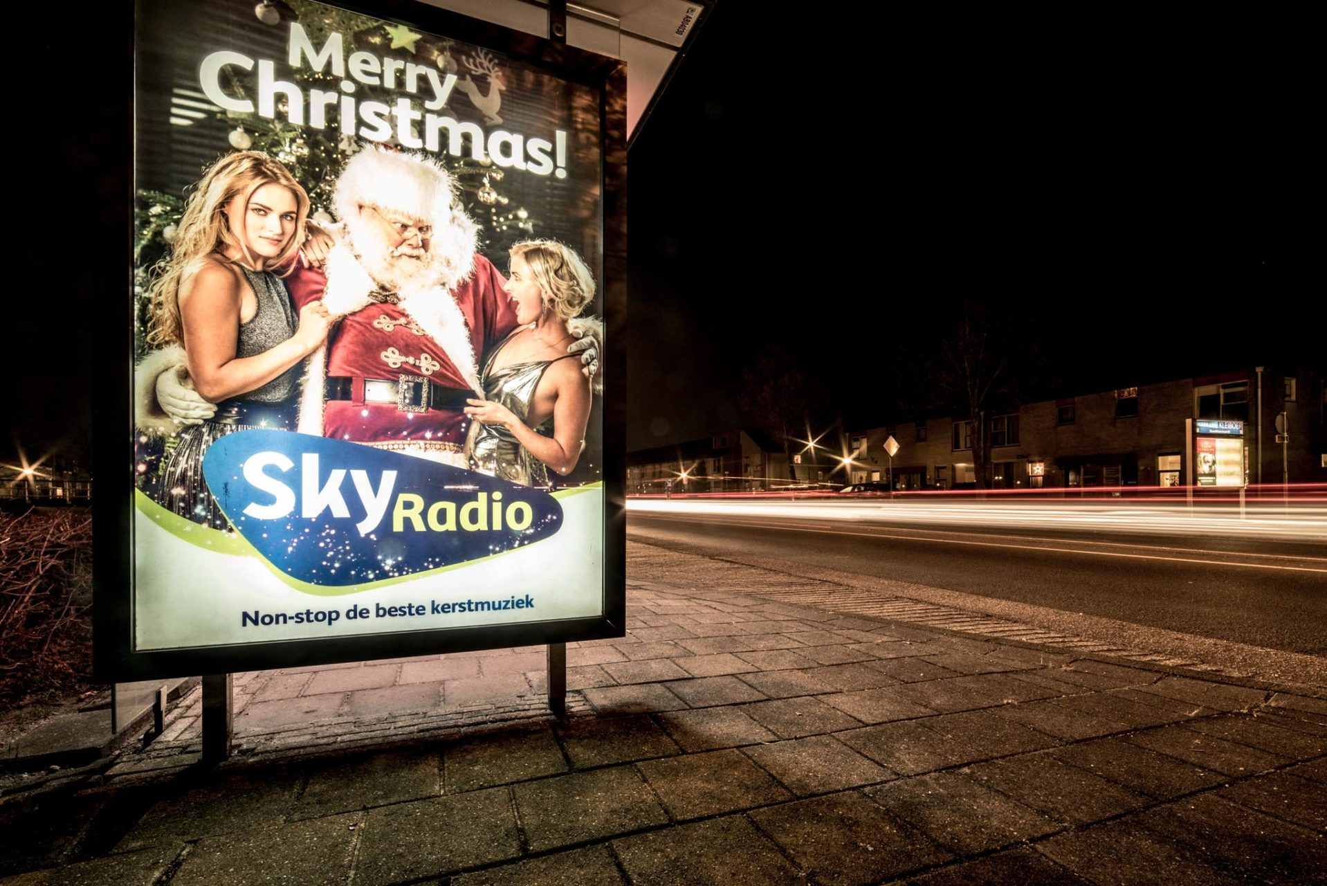 20161216 Sky Radio Abri - Bushokje