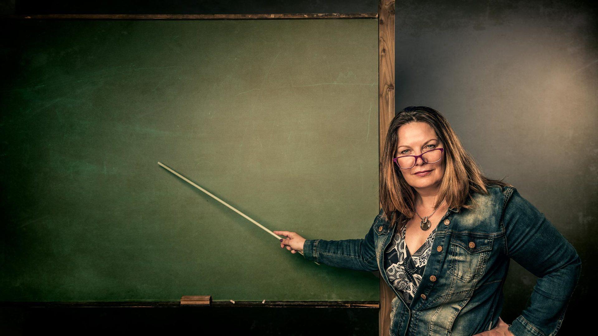 Esther_van_der_Meer-MEER_over_Cijfers-schoolbord